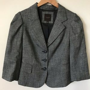 THE LIMITED COLLECTION boxy oversized tweed blazer